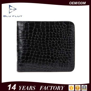 Factory Direct Sale Low MOQ Top Leather Crocodile Texture Wallet pictures & photos