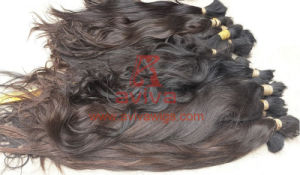 Full Cuticles Intact Virgin Natural Human Hair pictures & photos