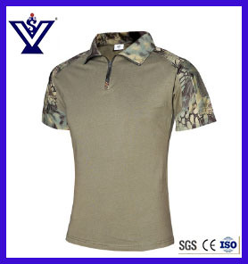 Outdoor Camouflage Military T-Shirt Clothes Uniform (SYSG-2010) pictures & photos