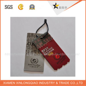 High Quality Custom Made Paper Hang Tag with Rope pictures & photos