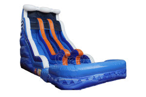 17FT Double Lane Inflatable Water Slide Chsl658 pictures & photos