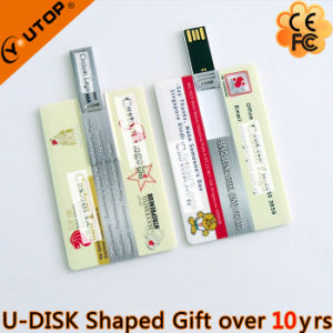 Promotion Gifts Outstanding ATM Card Type Pen Drive (YT-3101) pictures & photos
