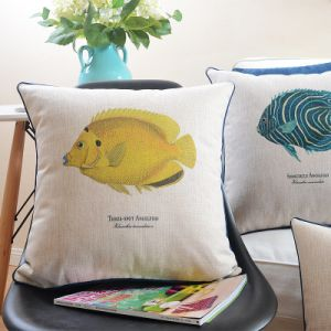 Inexpensive Cotton Linen Outside Pillows for Gift pictures & photos