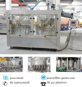 Automatic 3 in 1 Bottled Water Filling Machine pictures & photos