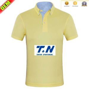 2016 New Brand Summer Collar Solid T Shirt Blank Cotton Shirt Polo Shirt pictures & photos