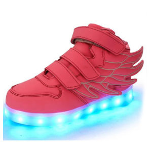 High Top Light up Sneakers Glowing Shoes for Sale pictures & photos