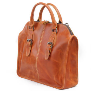 Genuine Leather Briefcase Bag Fashion Designer Man Handbags (RS-6013) pictures & photos
