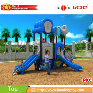2017 Outdoor Playground Toy Slide Kids Dream Xiangyun House Serise (HD17-022D) pictures & photos