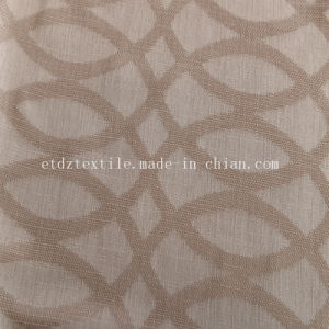 2017 Linen Like Blackout Curtain Fabric pictures & photos