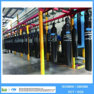 2016 40L Seamless Steel Oxygen Gas Cylinder ISO9809/GB5099