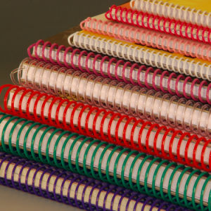 Plastic Spiral Wire Binding Supplies for Office Binding Supplies and Stationery pictures & photos
