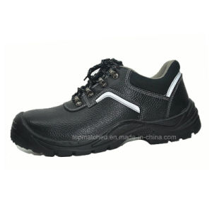 PU Injection Industrial and Construction Protective Safety Shoes for Men pictures & photos