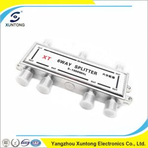 2 3 4 Way Satellite TV Splitter 5-900MHz 5-2050MHz pictures & photos