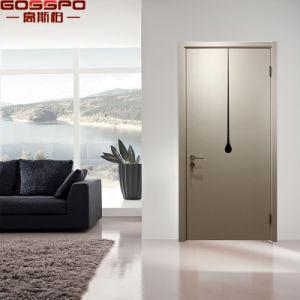Fancy Design Walnut Wood Room Exterior Door for House (GSP2-103) pictures & photos