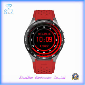 Multi-Function Bluetooth Kw88 Andriod Smart Watch with SIM Health Monitor G-Sensor pictures & photos
