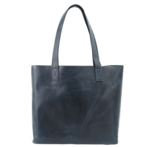 Cowhide Leather Fashion Designer Ladies Tote Handbag (RS-6015A) pictures & photos