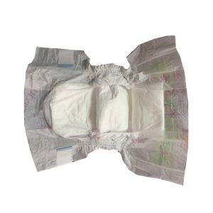 Grade a Diapers with Baby Diaper Materials Spunlace Nonwoven pictures & photos