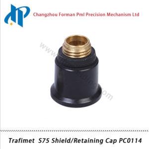 Trafimet S75 Plasma Cutting Torch Consumables Shield/Retainging Cap PC0114 pictures & photos