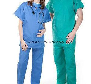 100% Autoclavable Washable Reusable Medical Surgical Gown pictures & photos