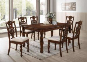Oak Wooden Dining Tables Set pictures & photos