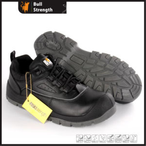 Industrial Leather Safety Shoes with PU/PU Sole (SN5486) pictures & photos