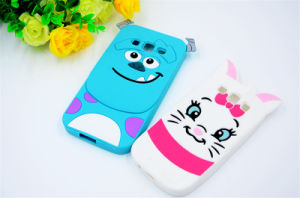 Silicone 3D Cartoon Cute Cheshire Cat Sulley Tigger Patterns for Zte V6plus A315 A310 A510 X7plus Phone Case pictures & photos