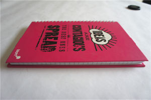 Cheap Hardcover Book Printing Journals Student Hard Cover Notebook pictures & photos