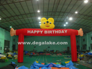 Happy Birthday Inflatable Bear Arch, Cartoon Arch for Children pictures & photos