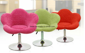 Single Seater Fabric Flower Sofa Chairs (LL-BC071) pictures & photos