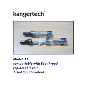 Hot Electronic Cigarette Wholesale Kanger T2 Clearomizer pictures & photos