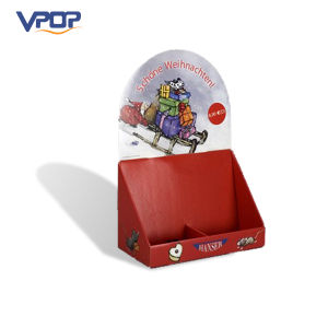 Cute Cartoon Corrugated Cardboard Counter Display PDQ Box