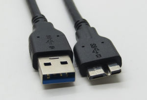 1.2m USB 3.0 Type a to Micro B Cable for External Hard Drives pictures & photos