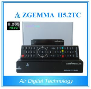 Zgemma H5.2tc Multistream Decoder&HDTV Box Linux OS Hevc/H. 265 DVB-S2+2*DVB-T2/C Dual Tuners pictures & photos