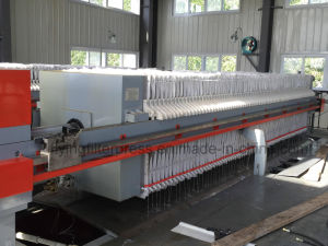 Wastewater Treatment Filter Press X 80/1000 pictures & photos