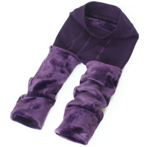 Women Winter Warm Fleece Leggings pictures & photos