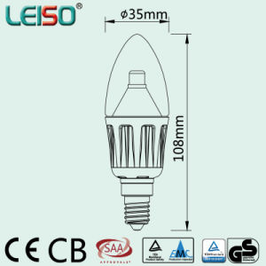 E14 B15 CREE Chip Scob LED Candle (LS-B304-A-CWW/CW) pictures & photos