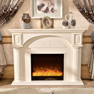 Modern Home Furniture Wood Heater Electric Fireplace with Ce (332B) pictures & photos