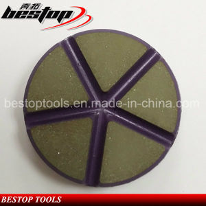 D80mm Diamond Ceramic Bond Polishing Pads for Floor pictures & photos