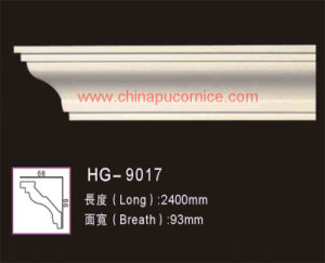 Polyurethane Cornice Lines for Building Decoration pictures & photos