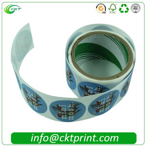 Wholesale Factory Direct Barcode Adhesive Stickers (CKT-LA-418)