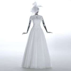 Floor Length Sheath Real Picture Traditional Wedding Dress pictures & photos