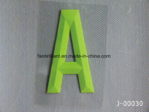 3D Silicone Heat Transfer Sticker for Shoes Hats