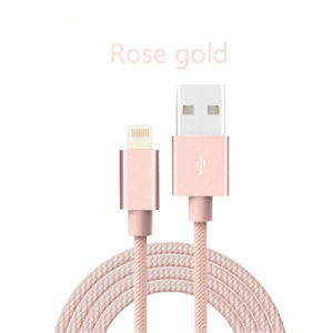 Nylon Braided Charging Sync Data USB Charger USB Cable pictures & photos