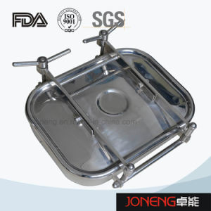 Sanitary Type Oval Type Manhole Cover Manway (JN-ML1004) pictures & photos