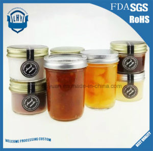 220 Ml Caviar, Jam and Pickles High -Grade, Lead-Free Glass Jar