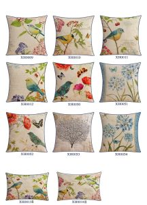 Deluxe Cotton Linen Kids Throw Pillows for Living Room pictures & photos