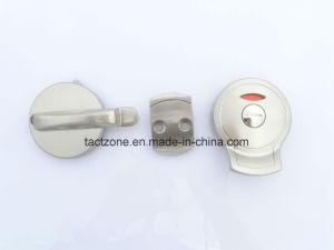 New Design Bathroom Partition Accessories Handle with Door Lock pictures & photos