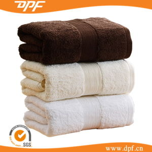 SPA Bathtowel Made in 100% Combed Egyptian Cotton (DPF10216) pictures & photos