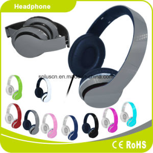 Gray Colorful Customized Logo Perfect Sound Effect Music Headphone pictures & photos