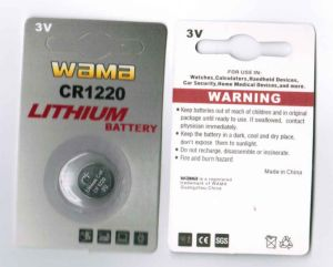 Long Lifetime Coin Battery Cr1220 pictures & photos